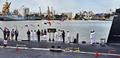 Defence Minister Rajnath Singh commissions INS Khanderi at Mumbai (3).png