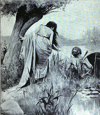 Deianira - Image: Deianeira and the dying centaur Nessus 1888