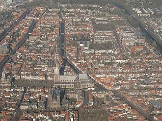 Nieuwe Kerk (Delft) - The Nieuwe Kerk from above
