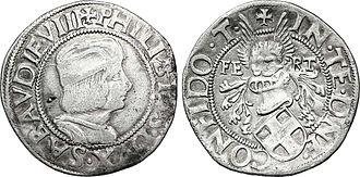 Philibert II, Duke of Savoy - Philibert II, duke of Savoy, 1500