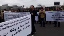 پرونده:Demonstrators protested against Mahmoud Hashemi Shahroudi around Hannover Neurology Hospital - Jan 7, 2018.webm