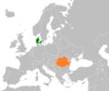 Denmark Romania Locator.png