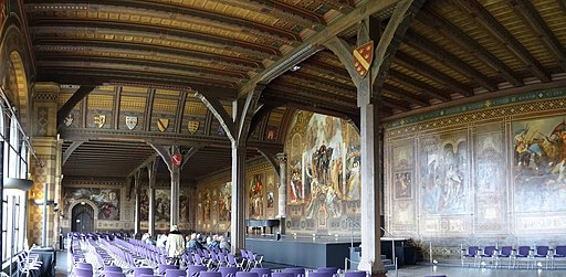 Sommersaal (Kaisersaal) in der Kaiserpfalz Goslar
