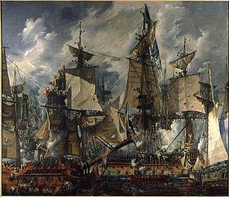 1788 in Sweden - Desprez - Battle of Hogland