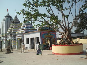 Athmallik State - View of the Deulajhari Shiva Temple, patronized by the king of Athmallik, Kishor Chandra Deo