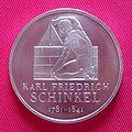 Deutsche Gedenkmuenzen - Karl Friedrich Schinkel.jpg