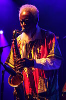 Deutsches Jazzfestival 2013 - Pharoah and the Underground - Pharoah Sanders - 01.JPG
