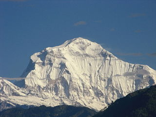 Dhaulagiri from ramrekha