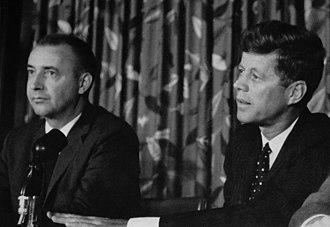 Richard Vander Veen - Vander Veen with John F. Kennedy