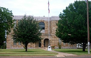 Dickens, Texas - The Dickens County Courthouse