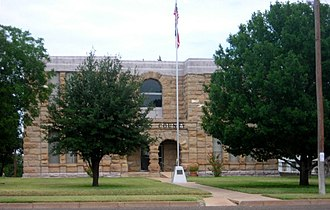 Dickens County, Texas - Image: Dickens 02 courthouse