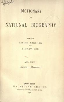 Dictionary of National Biography volume 24.djvu