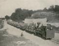 Die von den Armierungstruppen erbaute neue Feldbahn von Belzeg nach Zamosc (Phot. Berl. Illust.-Ges. mbH).png