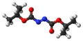 Diisopropyl azodicarboxylate 3D ball.png
