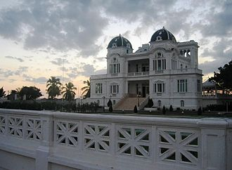 Yacht club - The clubhouse of the yacht club in Cienfuegos, Cuba