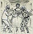 Disegno per copertina di libretto, disegno di Peter Hoffer per Arlecchinata (s.d.) - Archivio Storico Ricordi ICON012401.jpg