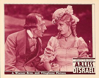 Disraeli (1929 film) - lobby card