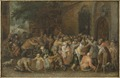 Distributing Alms (David Vinckboons) - Nationalmuseum - 17682.tif