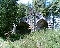 Disused railway bridge over the River Clwyd, 1 mile west of Bodfari. - geograph.org.uk - 204604.jpg