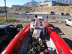 Dive boat at Oceana power boat club PA312154.JPG
