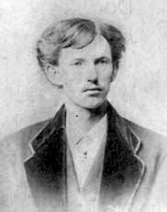 Doc Holliday - Holliday in 1872