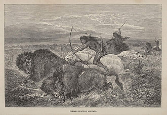 Richard Irving Dodge - Plate from Dodge's Hunting Grounds of the Great West, 1877