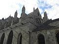 Dol-de-Bretagne (35) Cathédrale Sacristie et flanc sud.JPG