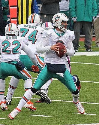 Matt Moore (American football) - Moore with the Miami Dolphins in 2011