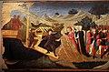 Domenico di michelino (attr.), storie dei greci e delle amazzoni con il ratto di antiope da parte di teseo, 1440-50 ca. 02.jpg