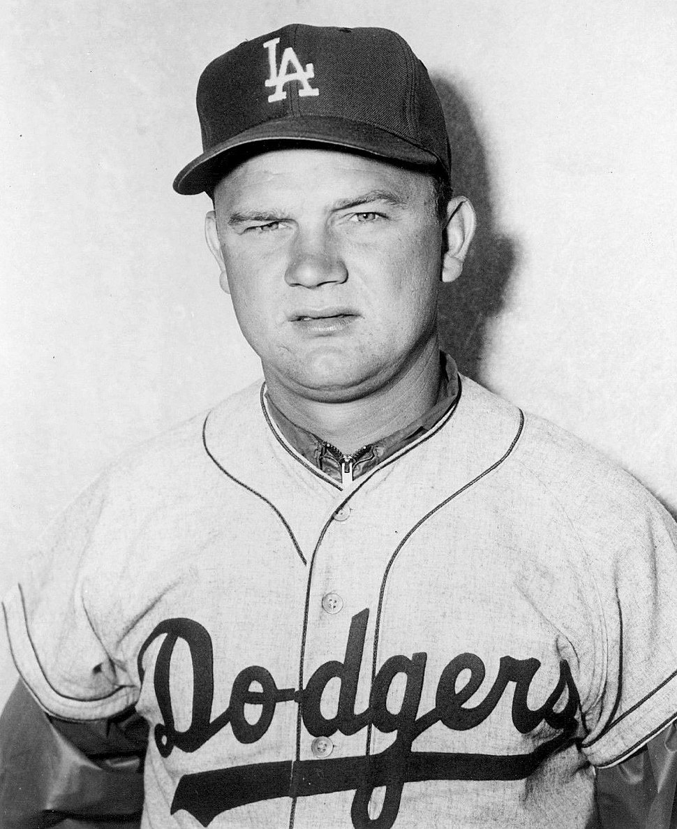 Don Zimmer Los Angeles Dodgers 1959