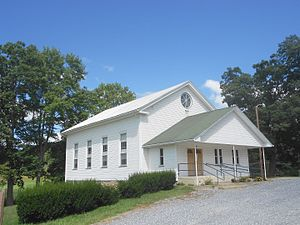 Oneida Township, Huntingdon County, Pennsylvania - United Methodist Church in Donation
