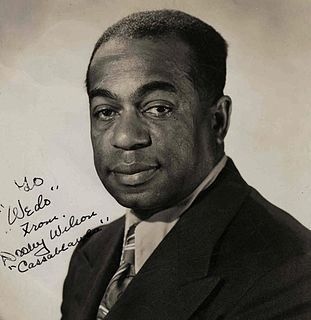 Dooley Wilson American actor, musician (1886–1953)
