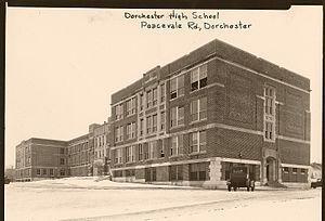 Dorchester High School (Massachusetts) - The current school building