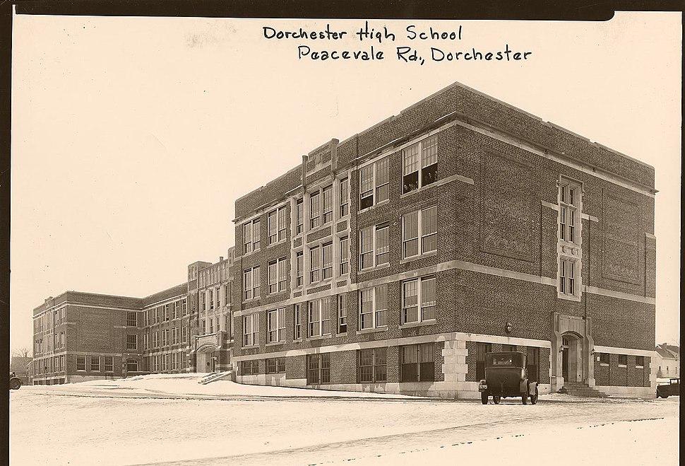 Dorchester High School - 0403002046a - City of Boston Archives