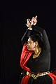 Dorothy Bhattacharya Dancing With Rabindra Sangeet - Sriniketan - Birbhum - 2017-10-21 5142.JPG