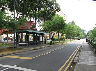 Kampong Java - Image: Dorset Road, Aug 06
