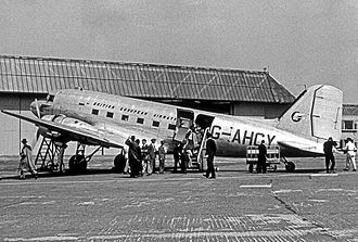 British European Airways - BEA operated many Douglas DC-3s, later naming them Pionairs, between formation in 1946 and disposal of the last in May 1963.