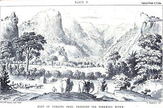 Hugh Cleghorn (forester) - Foot of the Poonachy Pass, from Forests and gardens of South India