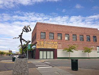 Kennewick, Washington - Historic Downtown Kennewick, WA.