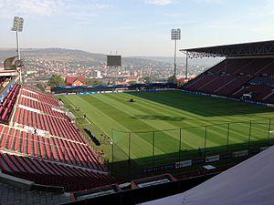 2017–18 Liga I - Image: Dr Constantin Radulescu Stadium (8122846696)