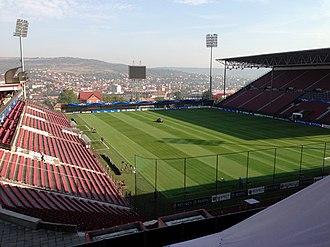 2016–17 Liga I - Image: Dr Constantin Radulescu Stadium (8122846696)