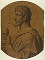 Drawing, St. Peter, Study for Ceiling, Saint John the Baptist Church, Brooklyn, NY, 1902 (CH 18432979-2).jpg