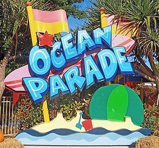Ocean Parade (Dreamworld) Part of an amusement park in Australia