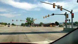 File:Driving through the Continuous-Flow Intersection Utah SR-154 Bangerter Hwy at 4100 South 2013-07.ogv