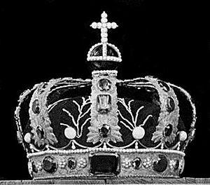 Regalia of Norway - Queen's crown of Norway DigitaltMuseum.no Project