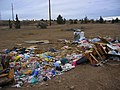 Dump site and abandoned vehicle North Unit Canal in the Prineville area.jpg