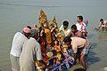 Durga Idol Immersion - Baja Kadamtala Ghat - Kolkata 2012-10-24 1342.JPG