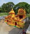Durga Puja Pandal - Biswamilani Club - Padmapukur Water Treatment Plant Road - Howrah 2015-10-20 6074-6075.tif