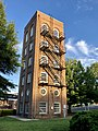 Durham City Fire Drill Tower, Old North Durham, Durham, NC (49140189276).jpg