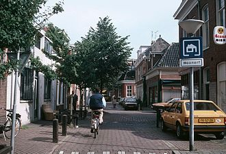 Woonerf - An old Dutch street turned into a woonerf